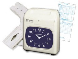 Amano BX-1500 Manual Time Clock Package