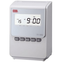 Max ER-1600 Calculating Time Clock