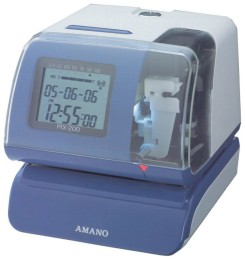 Amano PIX-200 Time/Date Stamp